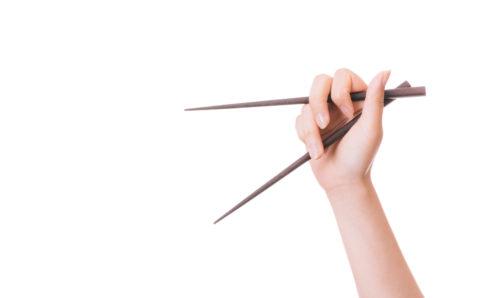 悪いお箸の持ち方