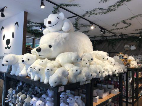 白熊のぬいぐるみ