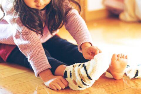 保育士の靴下がおしゃれな理由5選【子供が喜ぶ姿がみたい】